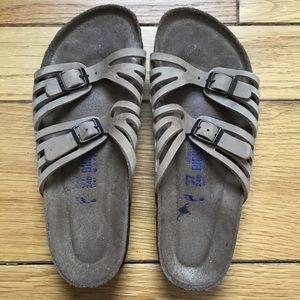 Birkenstock Granada Double Strap Buckle Sandals